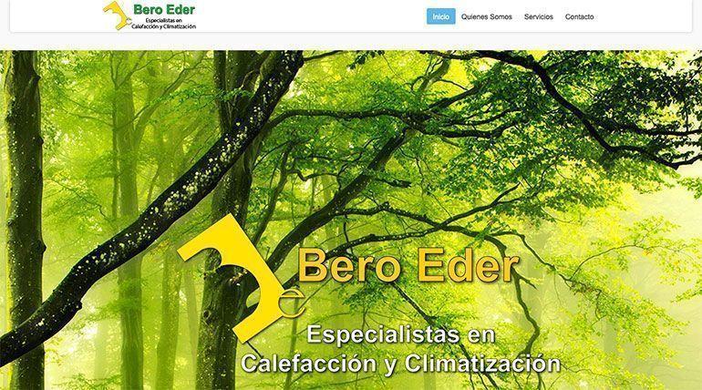 Páginas web Bero Eder Páginas Web Profesionales