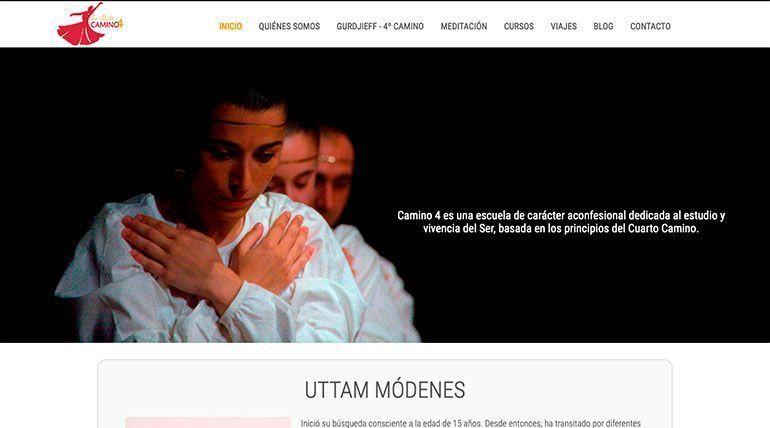 Página Web Escuela el 4º Camino Cabecera