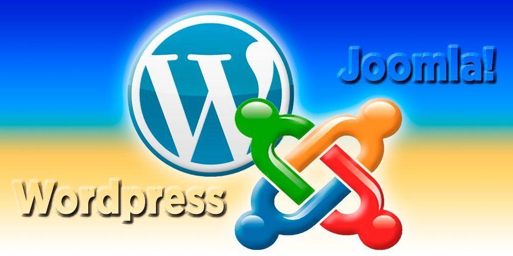 Cabecera artículo Joomla vs Wordpress