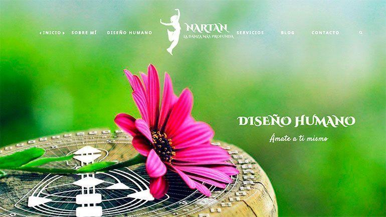 Páginas Web Profesionales Diseño Humano Cabecera