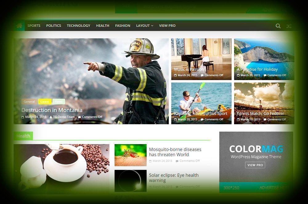 Páginas Web de Noticias Shamiwebs