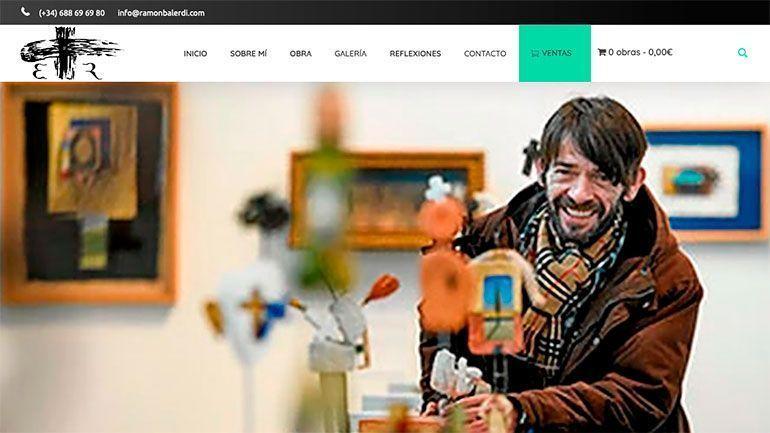 Páginas Web Profesionales Ramón Balerdi Cabecera