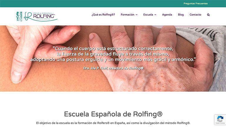 Desarrollo Web rolfing Páginas Web Profesionales